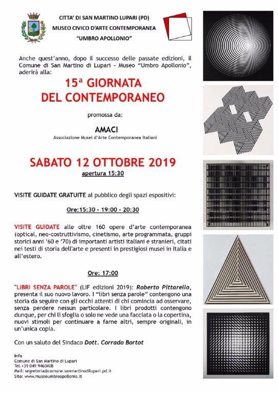 """Sabato 12 ottobre 2019: Museo Civico d'Arte Contemporanea """"Umbro Apollonio"""" Aperto"""