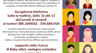 Sportello Donna – Women Help Desk