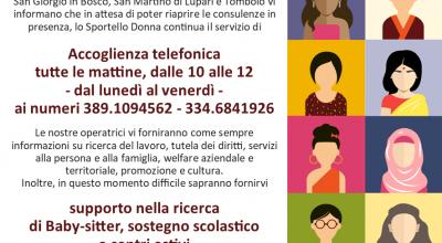 Sportello Donna – Women Help Desk