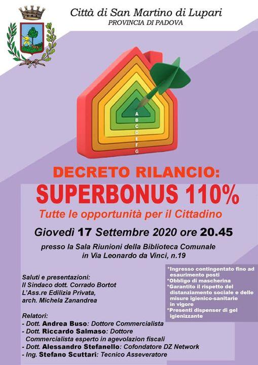 Superbonus 110, un'opportunità per il cittadino