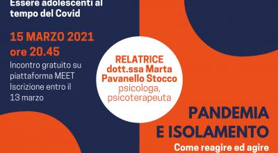 """Aspetti psico-relazionali a seguito della pandemia: Incontri on line organizzati dall'Associazione Ci.effe.pi """"Antonio Antonello"""""""